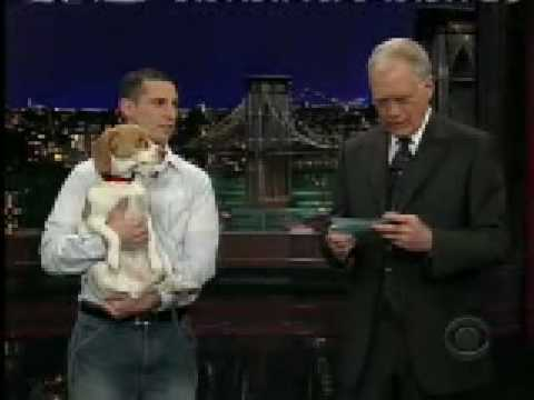 Beagle Does Amazing Stupid Pet Trick on Letterman Show